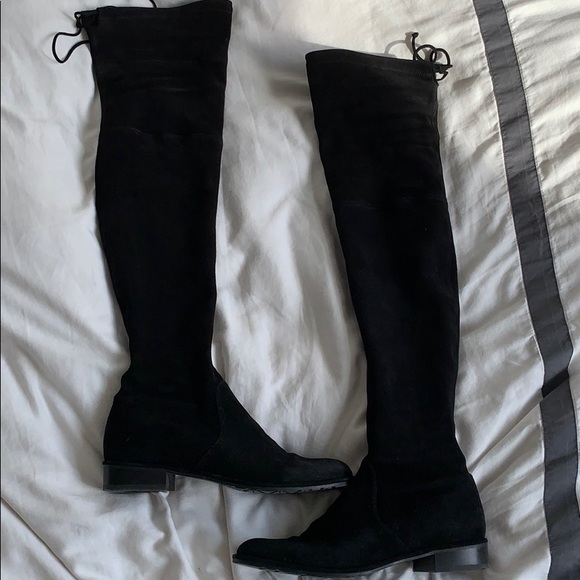 20bb90e97a80 Stuart Weitzman Shoes | Lowland Suede Over The Knee Boots | Poshmark